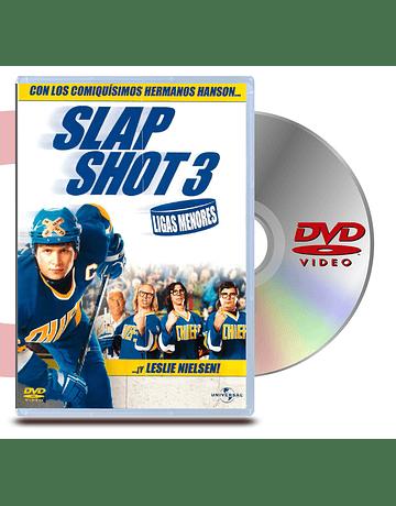 DVD Ligas Menores Slap Shot 3