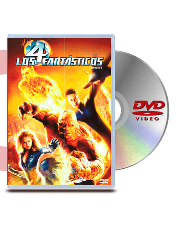 DVD Los Cuatro Fantasticos
