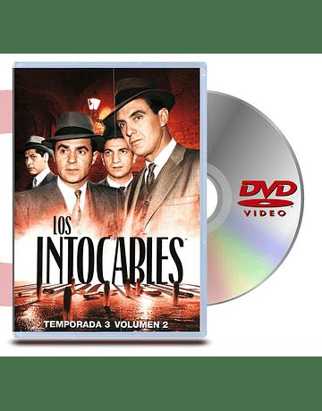 DVD Los Intocables: Temp 3 - Vol 2