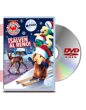 DVD Mascotas Maravillas: Salven al Reno