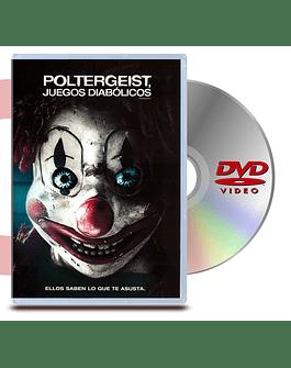 DVD Poltergeist Juegos Diabolicos