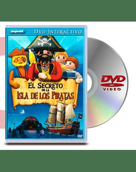 DVD Playmobil: EL Secreto De La Isla De Los Pirata
