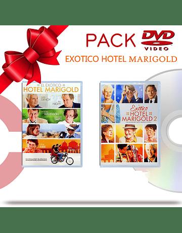 PACK DVD Hotel Marigold
