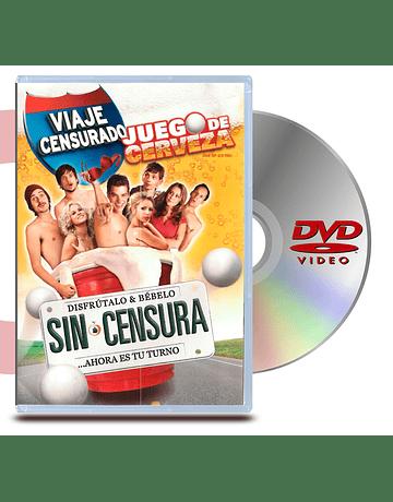 DVD Viaje Censurado: Juego De Cerveza