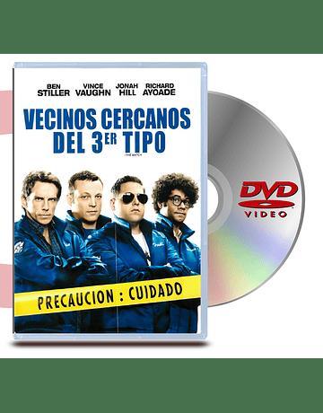 DVD Vecinos Cercanos Del Tercer Tipo