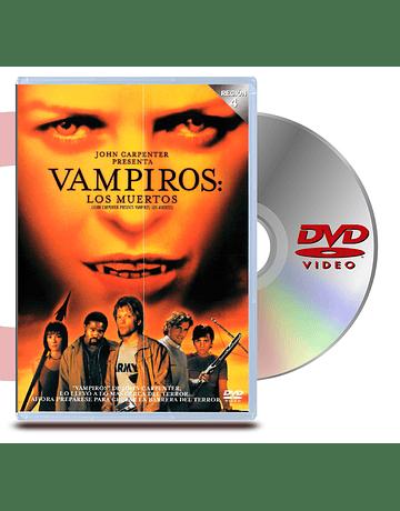 DVD Vampiros Los Muertos