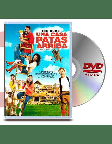 DVD Una Casa Patas Arriba
