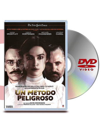 DVD Un Metodo Peligroso