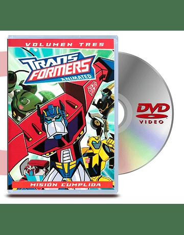 DVD Transformers Animado: Vol 3