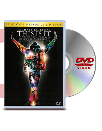 DVD This Is It: 2 Discos
