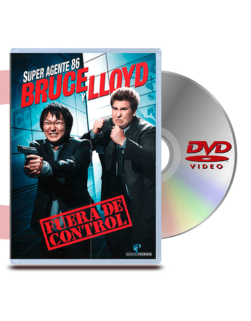 DVD Super Agente 86: Bruce Y Lloyd