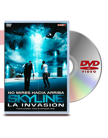 DVD Skyline: La Invasion