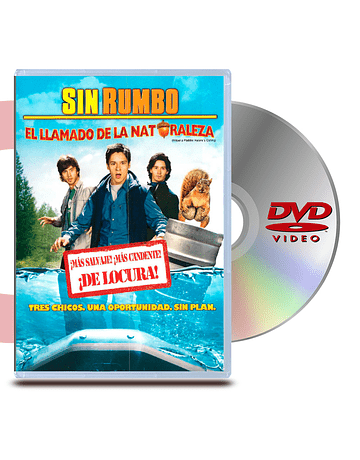 DVD Sin Rumbo 2 Lamado de la naturaleza