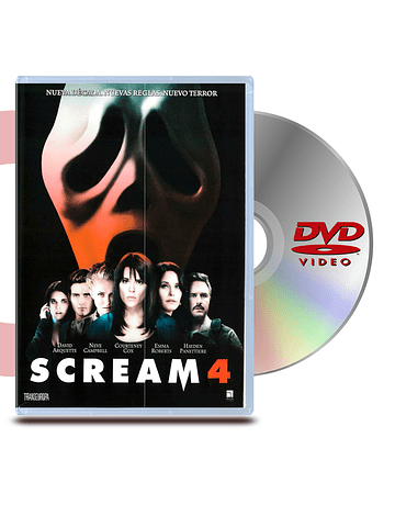 DVD Scream 4