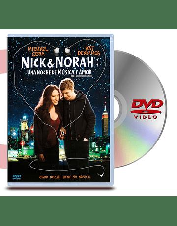 DVD Nick & Norah: Una noche de musica y amor