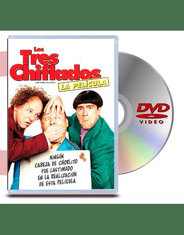 DVD Los Tres Chiflados: La Pelicula