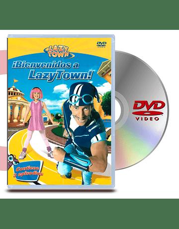 DVD Lazy Town: Bienvenidos a Lazy Town