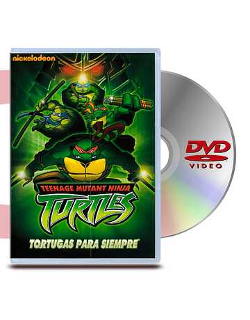 DVD Las Tortugas Ninja:Tortugas para Siempre