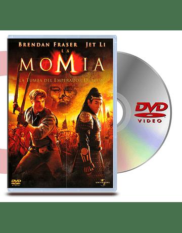 DVD La Momia 3, La Tumba Del Emperador Dragon