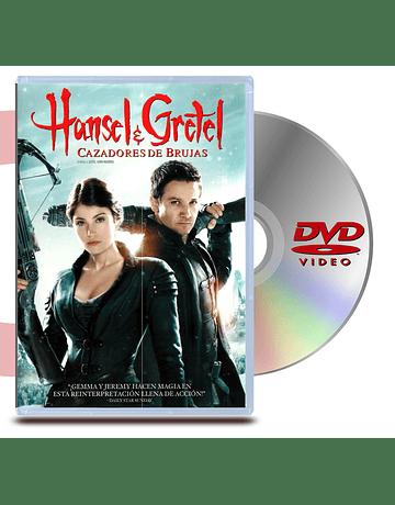 DVD Hansel y Gretel: Cazadores De Brujas