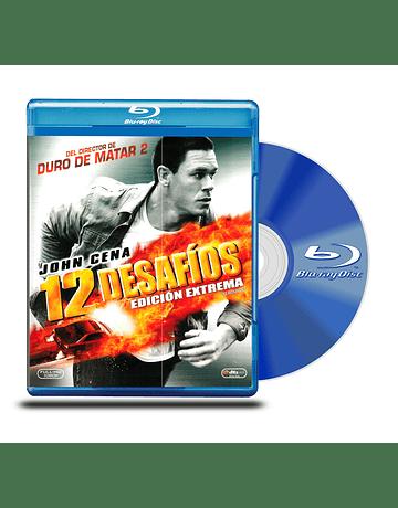 Blu Ray 12 Desafios