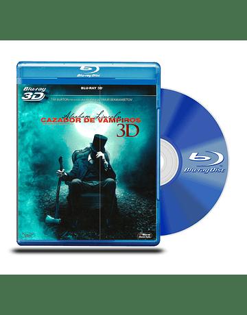 Blu Ray 3D Abraham Lincoln : Cazador de Vampiros