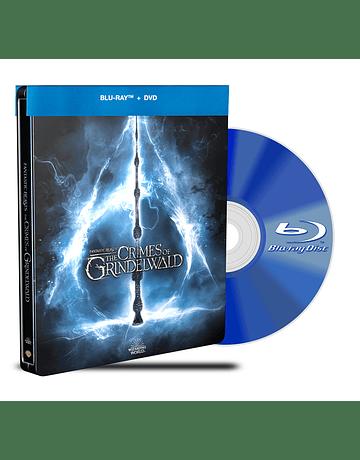 Steelbook Blu Ray Animales Fantásticos Los crímenes de Grindelwald BD+DVD