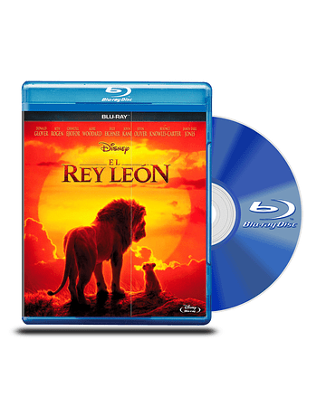 Blu Ray El Rey León