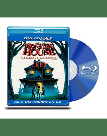 Blu Ray 3D La Casa de los Sustos