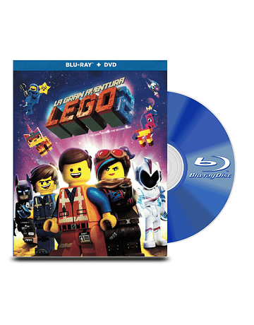 Blu Ray La Gran Aventura Lego 2 BD+DVD