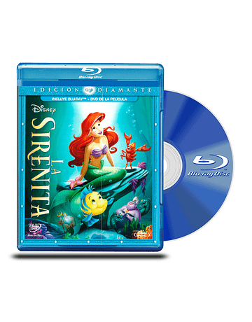 Blu Ray La Sirenita ED BD+DVD