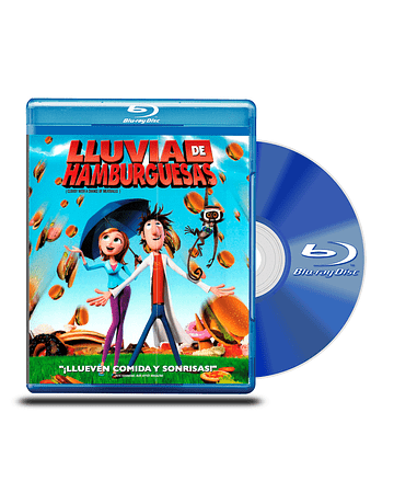 Blu Ray LLuvia de Hamburguesas