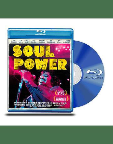 Blu Ray Soul Power ( El Poder del Soul)