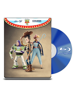 Steel Book Toy Story 4 BD+DVD