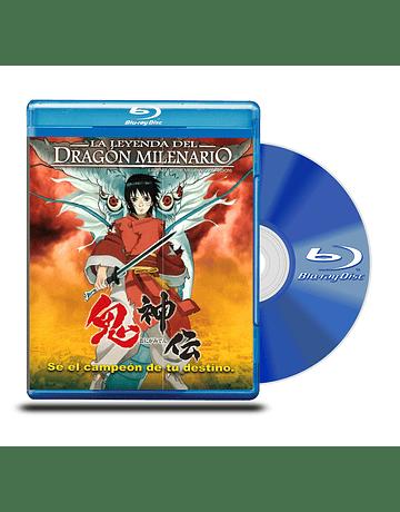 Blu Ray Leyenda del dragon Milenario