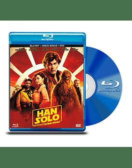 Blu Ray Han Solo Una Historia de Star Wars