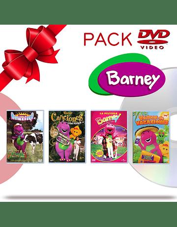 PACK DVD Barney y Sus Amigos