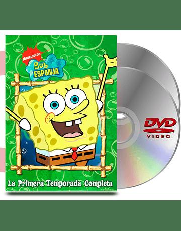 DVD Pack Bob Esponja Temporada 1 (Completa)