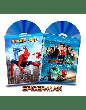 Blu Ray Pack Spider-Man: Regreso a Casa y Lejos de Casa