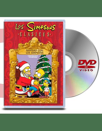 DVD Los Simpsons Navidad con los Simpsons