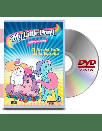 DVD Mi Pequeño Pony: El fin del valle de la estrella