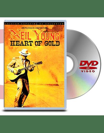 DVD Neil Young Corazon de Oro