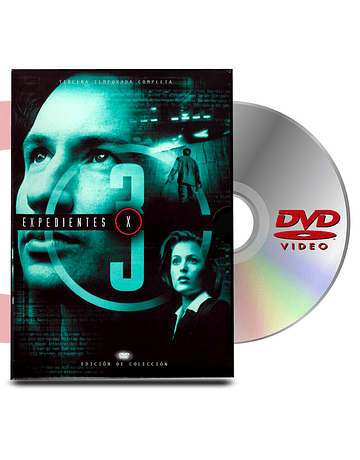 DVD Archivos Secretos X Temp 3