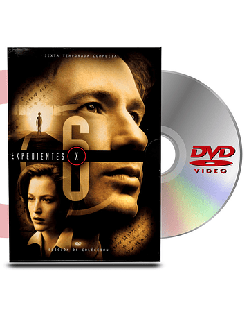 DVD Archivos Secretos X Temp 6