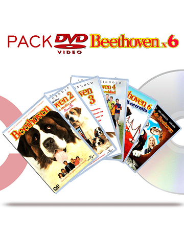 DVD Pack Beethoven 1 a 6