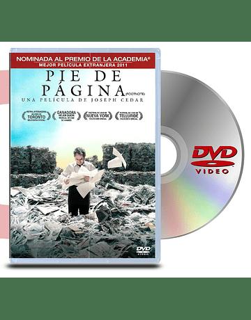DVD Pie de Pagina