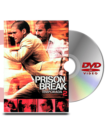 DVD Prison Break Temp 2 (6 discos)