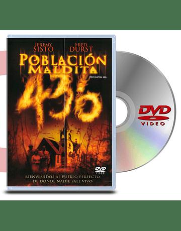DVD Poblacion Maldita 436