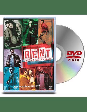 DVD Rent Vidas Extremas