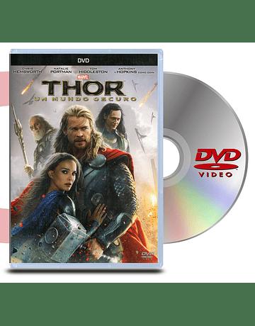 DVD Thor 2 Un Mundo Oscuro